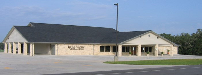 Thiele Cooper Funeral Home building front